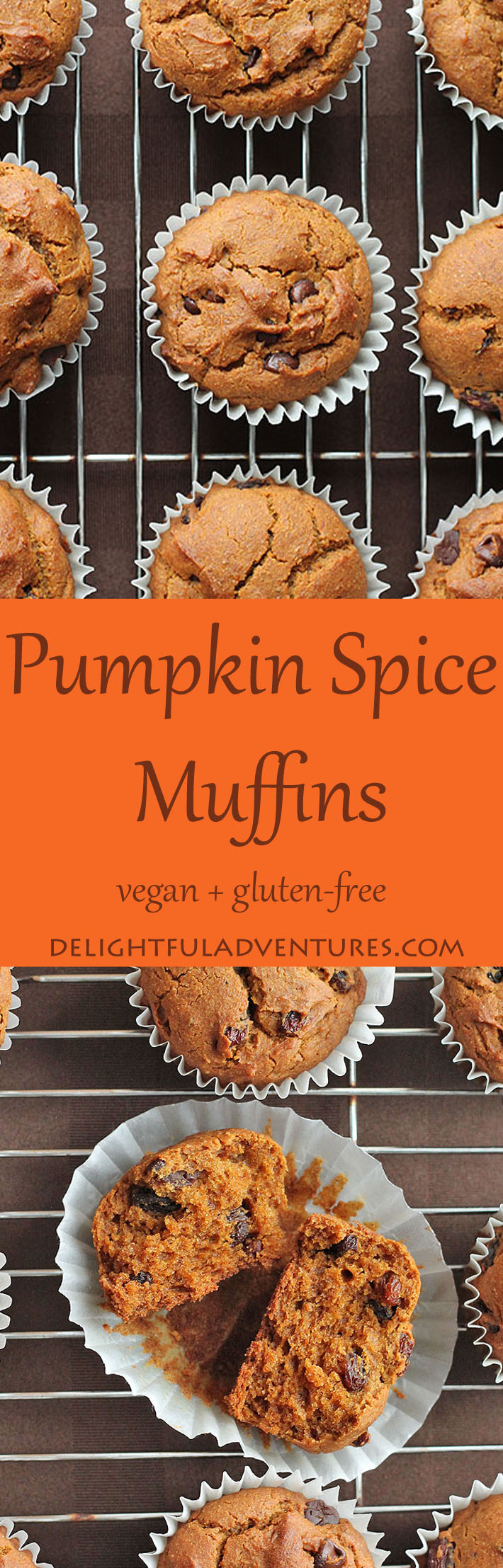 Vegan gluten free pumpkin spice muffins that are so easy to make and so delicious, you'll want to make them year-round—not just during the fall.