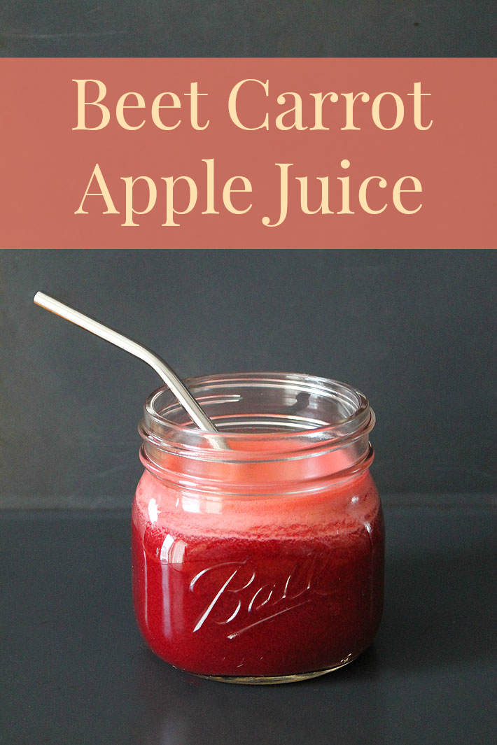 Beet Carrot Apple Juice