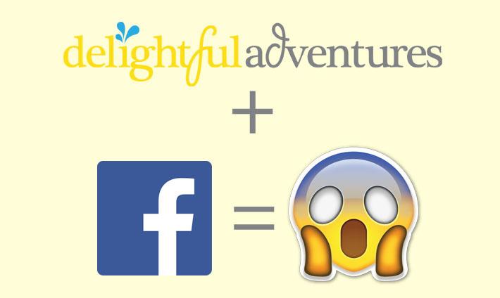 Delightful Adventures is Now on Facebook!