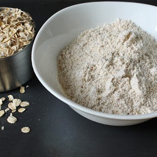 If you aren't sure How to Make Oat Flour, read this post to learn the simple steps you'll need to do.