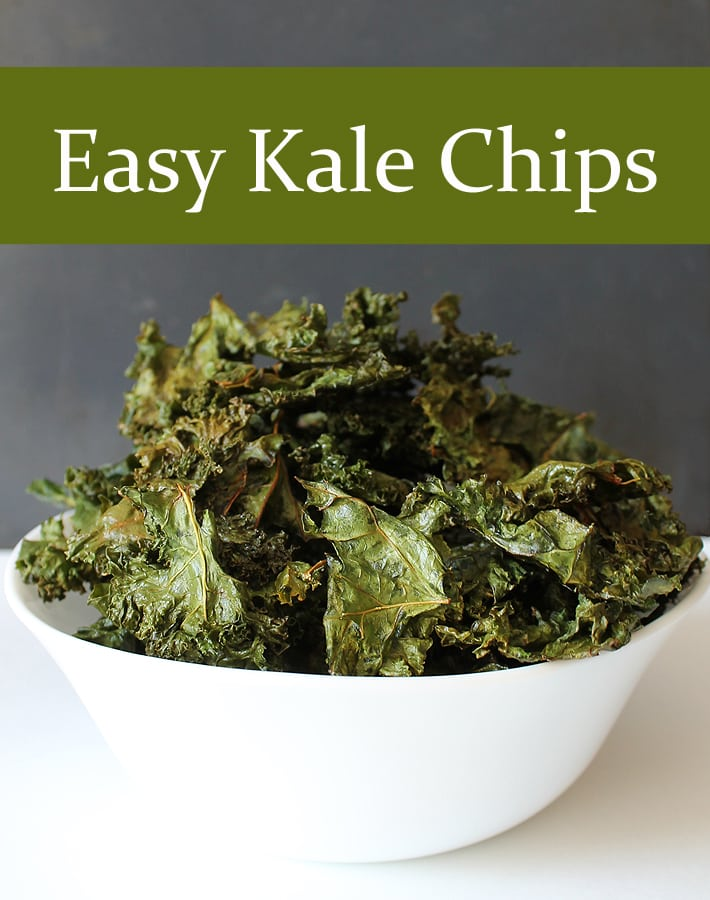 Searching for a recipe for healthy and easy kale chips? Look no more, this is it! Plus, learn the trick to retaining the nutrition in your baked kale chips. #delightfuladventures #kalechips #healthykalechips #easy kalechips