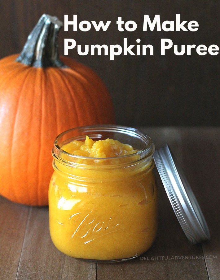 Get rid of the canned stuff and learn how to make homemade pumpkin puree! It's easy and your result will be fresh and ready for all your pumpkin recipes. #pumpkinpuree #homemadepumpkinpuree #pumpkinpureerecipe #pumpkinrecipes #pumpkin