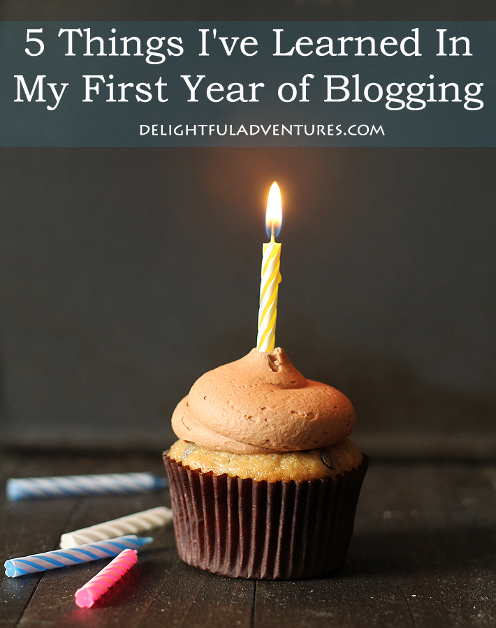 5 Things I've Learned In My First Year of Blogging