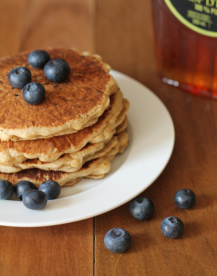 Easy vegan gluten free pancakes delightful adventures four easy vegan gluten ccuart Gallery