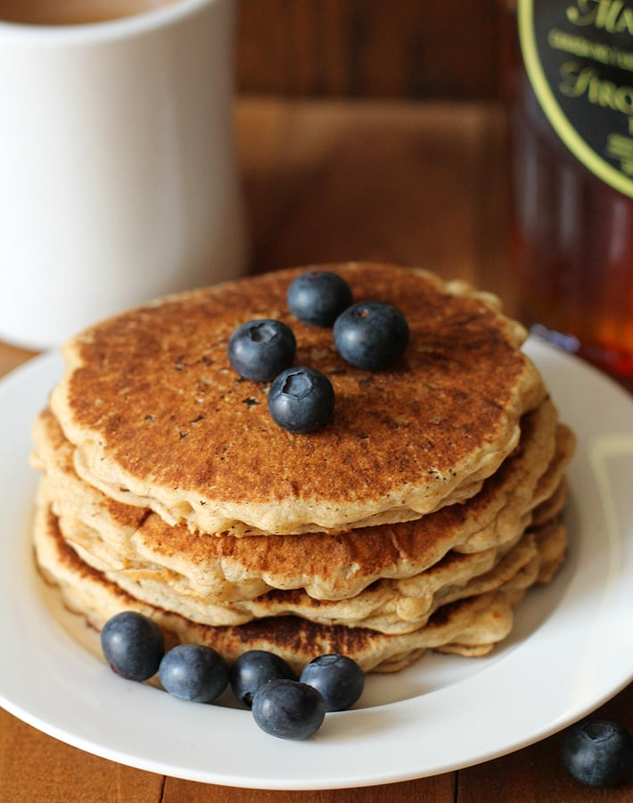 Your family will love these fluffy, delicious, Easy Vegan Gluten Free Pancakes.