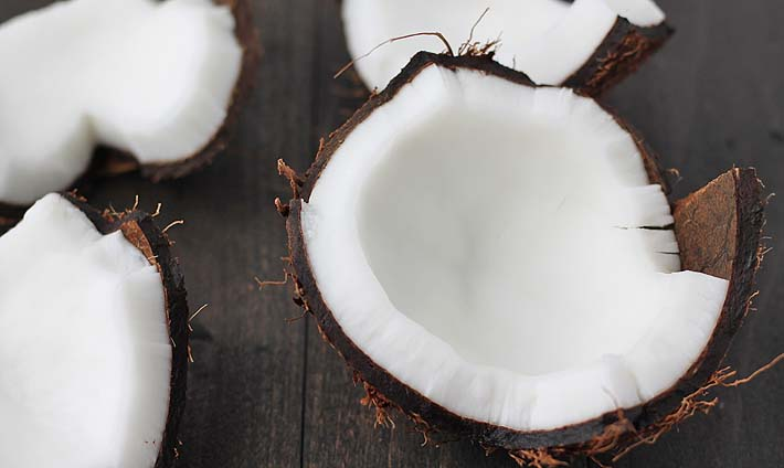 How to Crack Open and Use a Whole Coconut