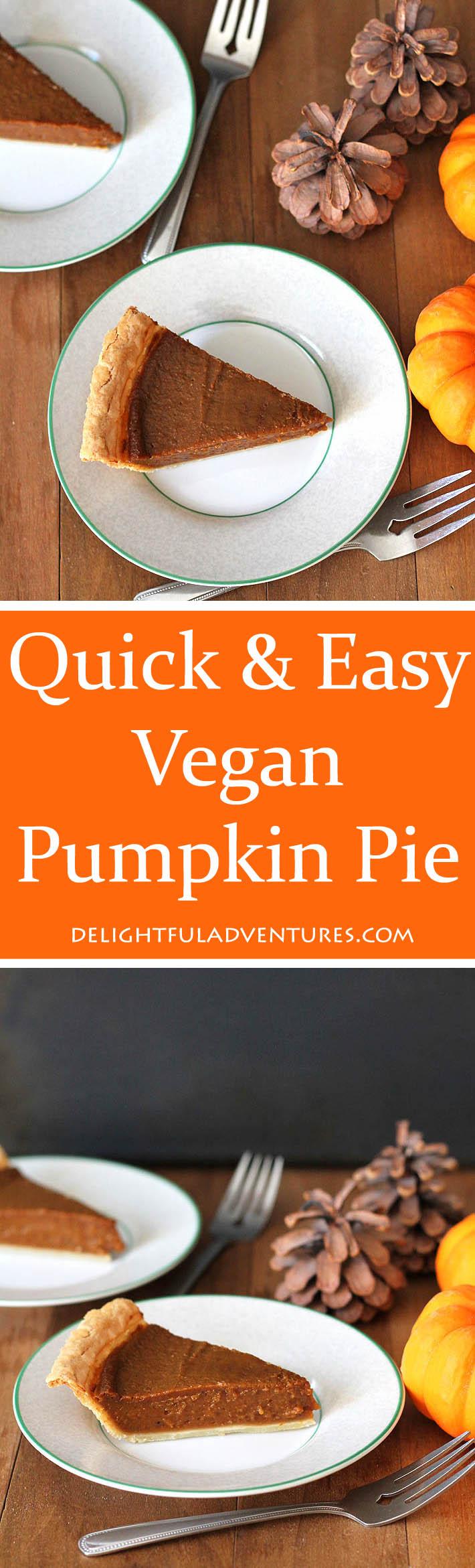 recipe: quick easy pumpkin pie [8]