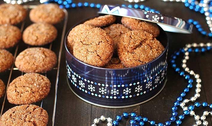Soft Vegan Gluten Free Gingerbread Cookies - Delightful Adventures