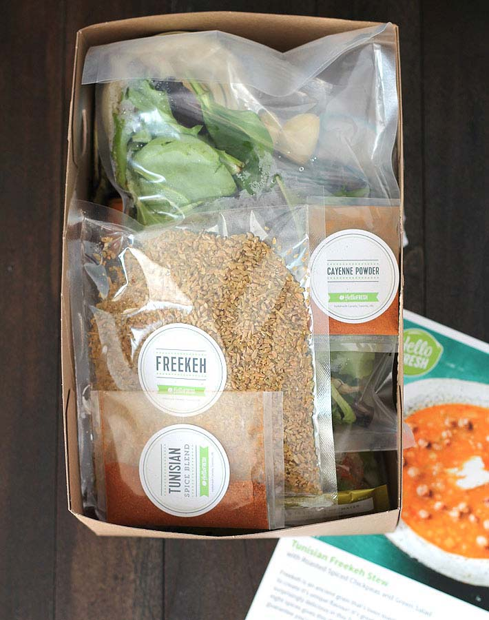 Price Of Meal Kit Delivery Service  Hellofresh