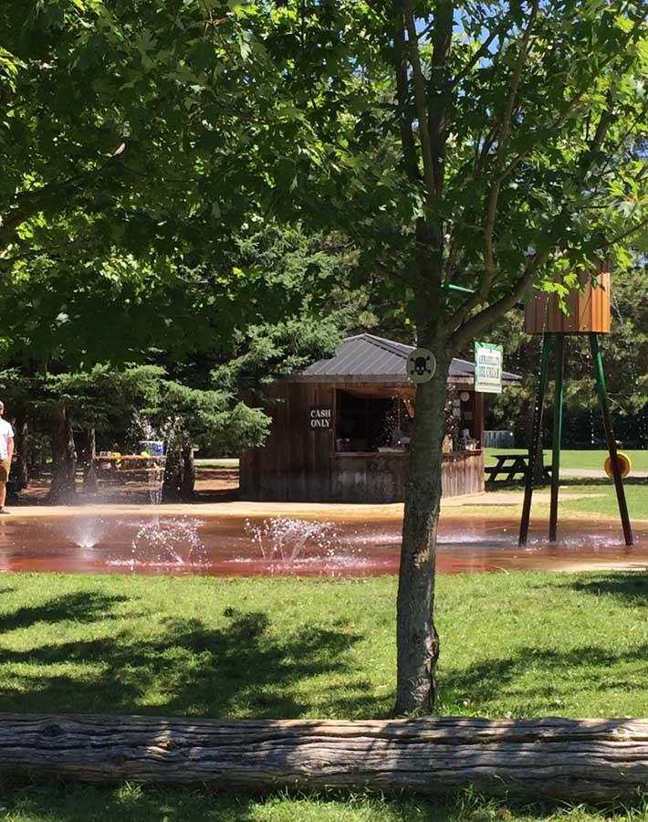 Splash Pad at Saunders Farm