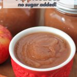 Once you get a taste of homemade slow cooker applesauce and see how easy it is to make, you won't want to buy store-bought applesauce ever again!