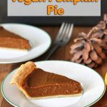 This Quick and Easy Vegan Pumpkin Pie recipe will save you lots of time so you can move on to other things when cooking multiple dishes during the holidays!