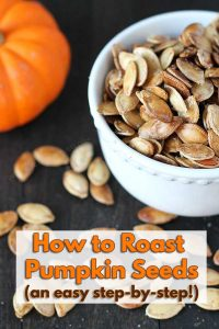 Don't throw those pumpkin seeds away! Follow this step-by-step on How to Roast Pumpkin Seeds and see just how easy it is. You'll never throw them out again!