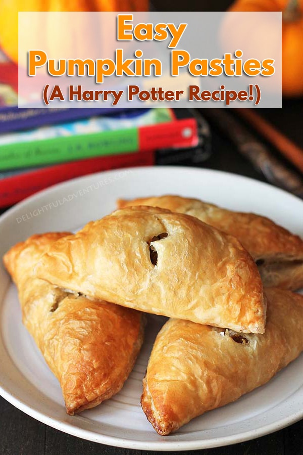 "Curious about what pumpkin pasties from the ""Harry Potter"" series taste like? This is my take on the treat enjoyed by the characters in the books!"