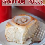 Soft, fluffy, easy vegan cinnamon rolls that can be made and baked right away or prepared the day before and baked in the morning. They're perfect for enjoying with tea or serving at brunches, breakfast or during the holidays!