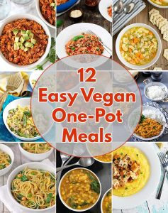 These easy vegan one-pot meals will make your busy weeknights a breeze! All of these recipes are vegan, gluten-free, and come together quickly and easily.