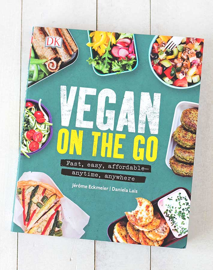 Vegan on the Go Recipe Book Cover