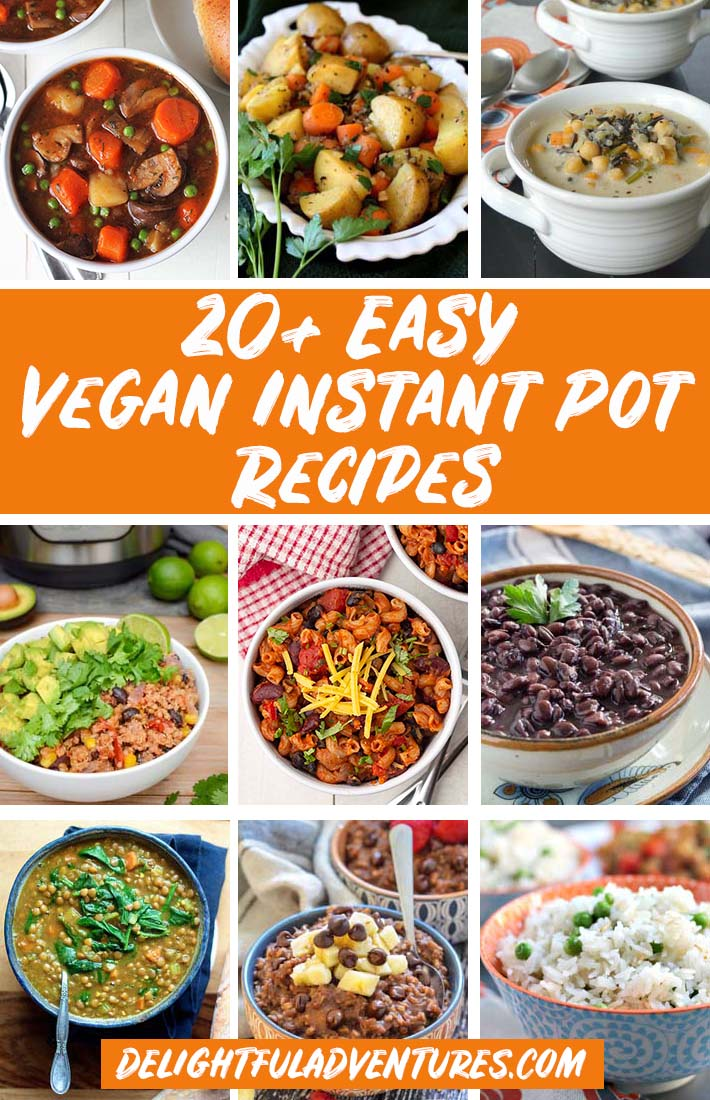Easy Plant Based Instant Pot Recipes Everyone Will Love Delightful Adventures
