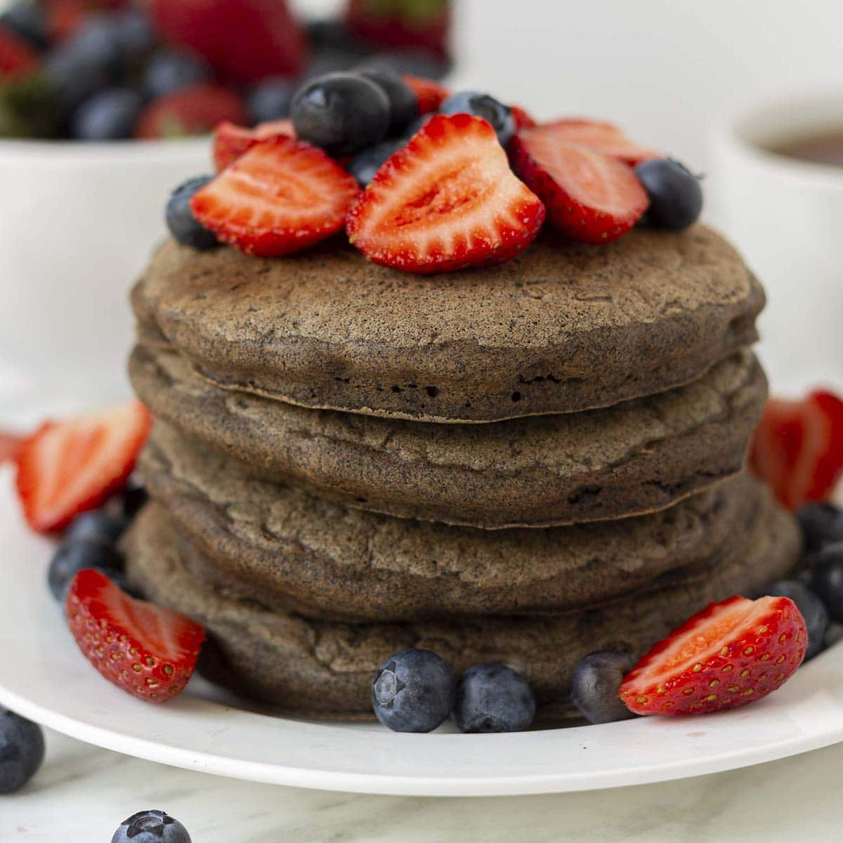 Fluffy Vegan Buckwheat Pancakes Quick Easy Delightful Adventures