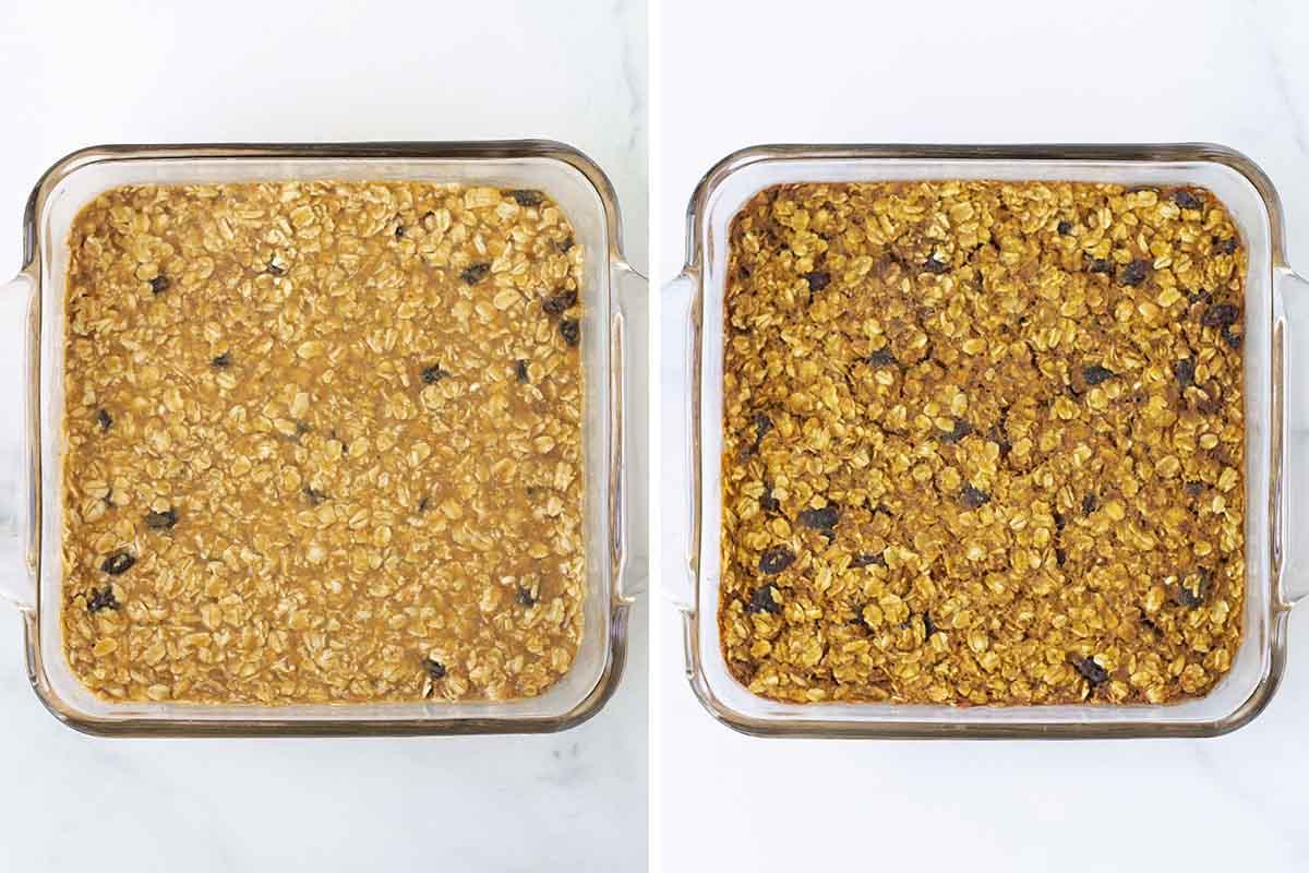 Vegan Pumpkin Baked Oatmeal Steps Picture